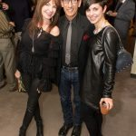 Richard Parsakian, Tori Mistick, and friend celebrating the holidays in style.