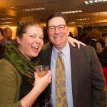 Bill Peduto and guest at holiday party 2014