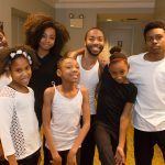 A group of young performers poses for Jekko at East Liberty Celebrates MLK