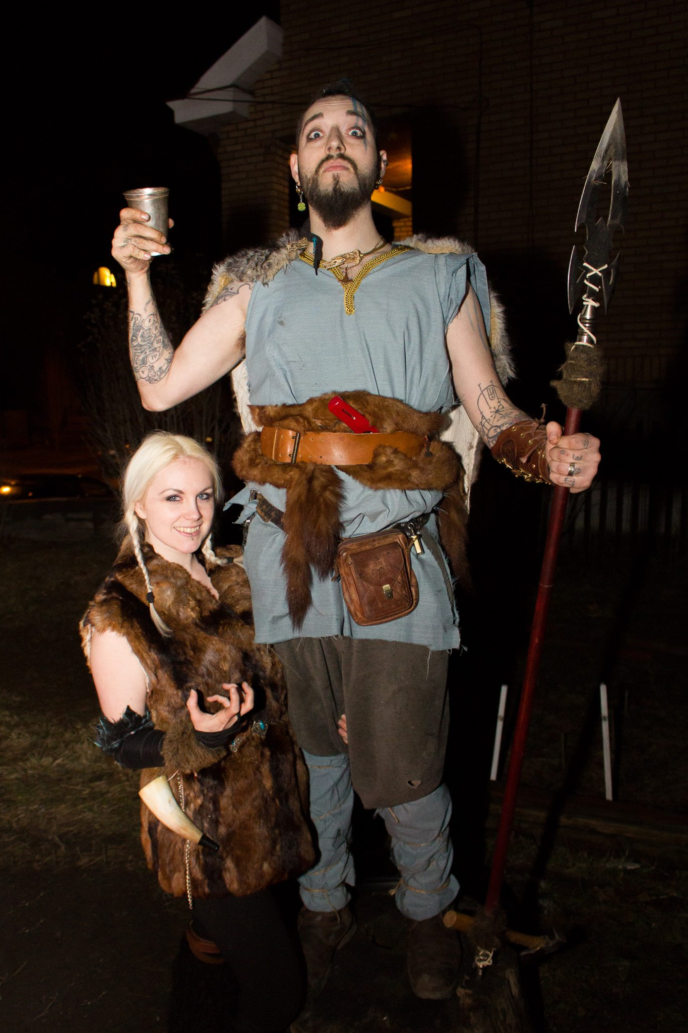 Pittsburgh Art House Viking Party