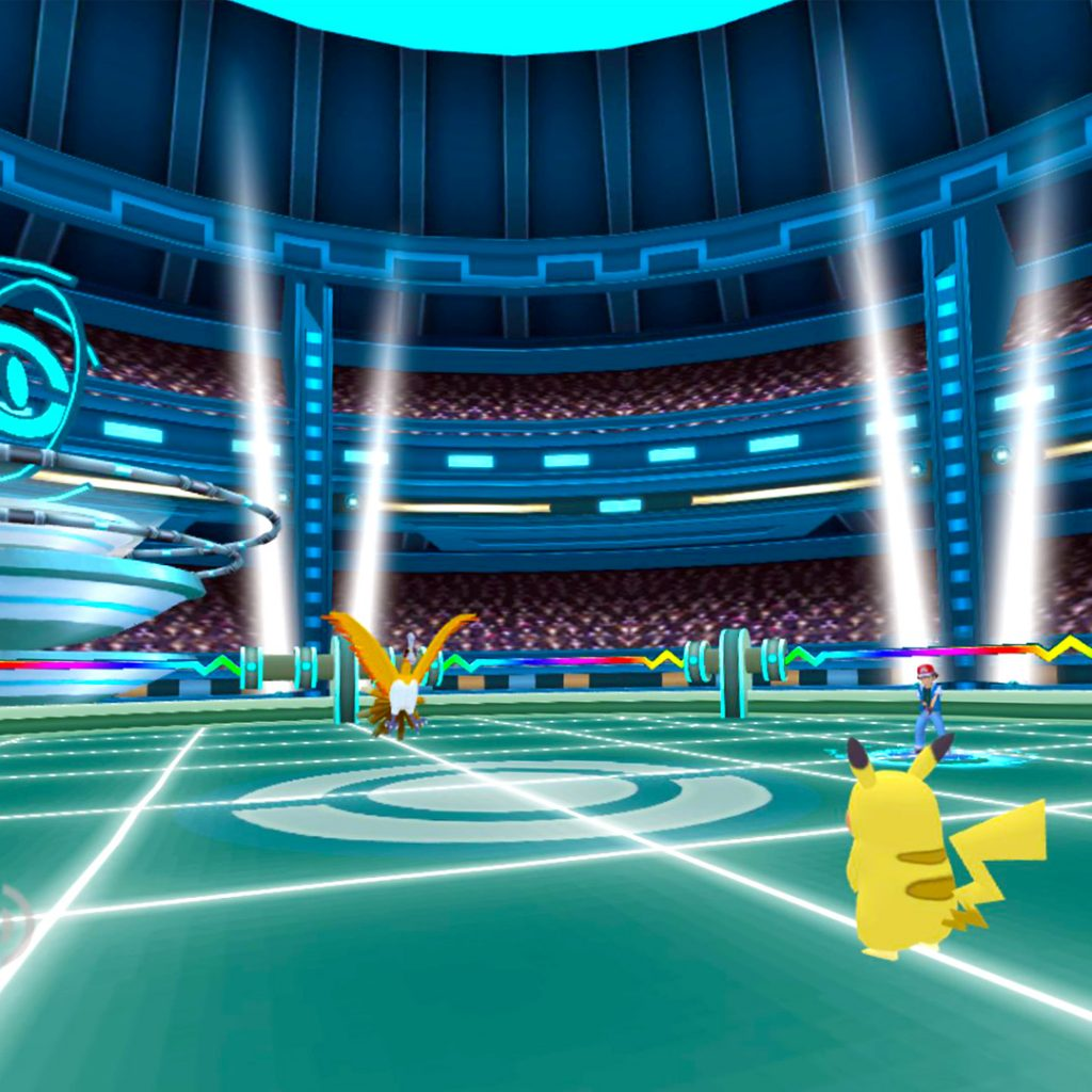 Unofficial Pokemon VR Screenshot